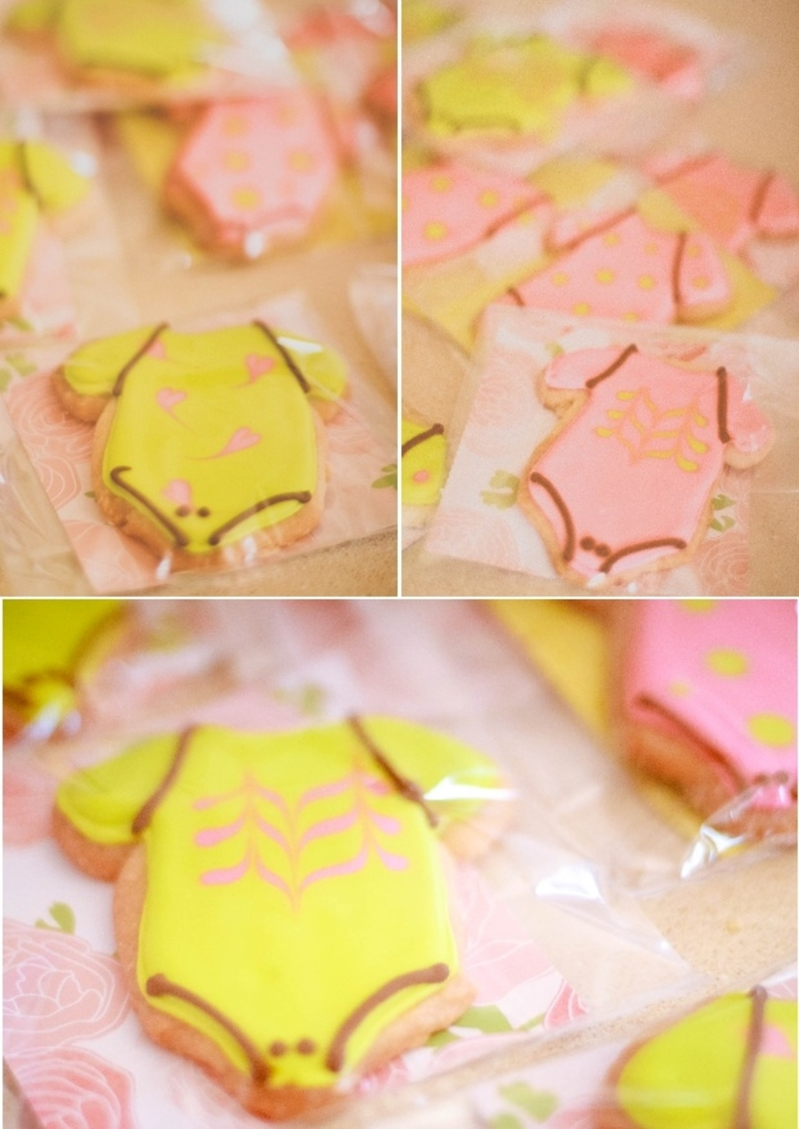 Cute Lil' Onesie Shortbread Cookies  on Cake Central