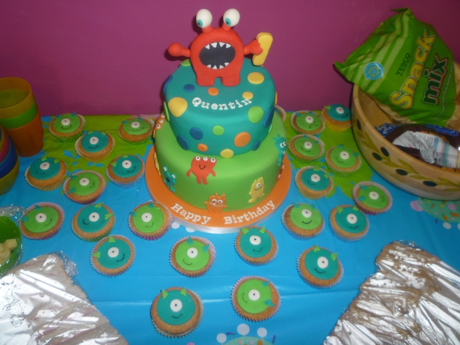 Monster Birthday Cake on Cake Central