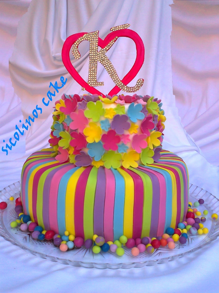 Cheerful Cake on Cake Central