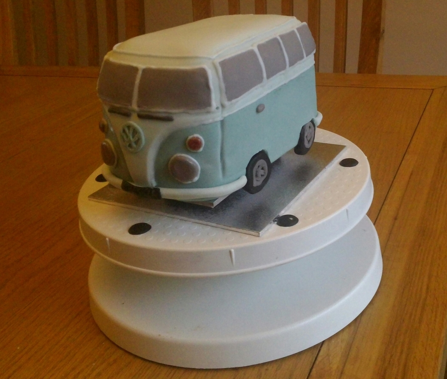 Vw Campervan Cake on Cake Central