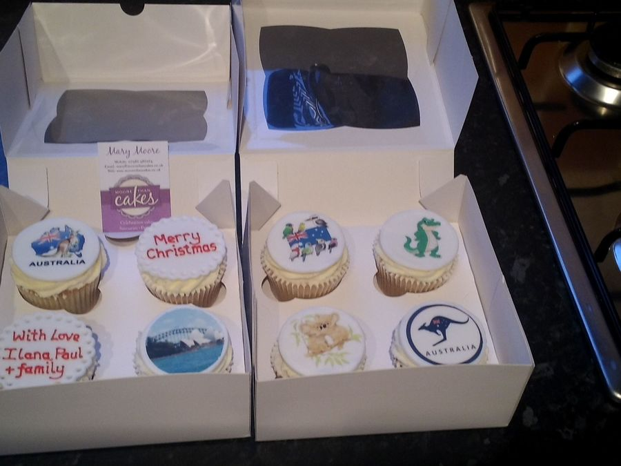 Australian Themed Cupcakes on Cake Central