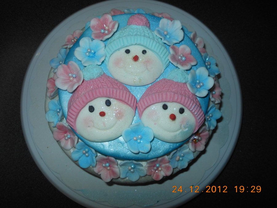 Brendas Christmas Cake  on Cake Central