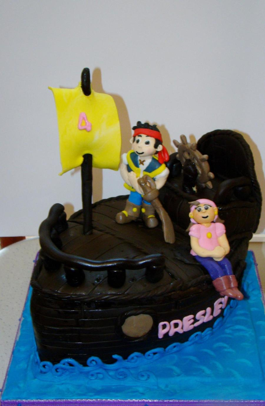 Pirates Birthday Cake on Cake Central
