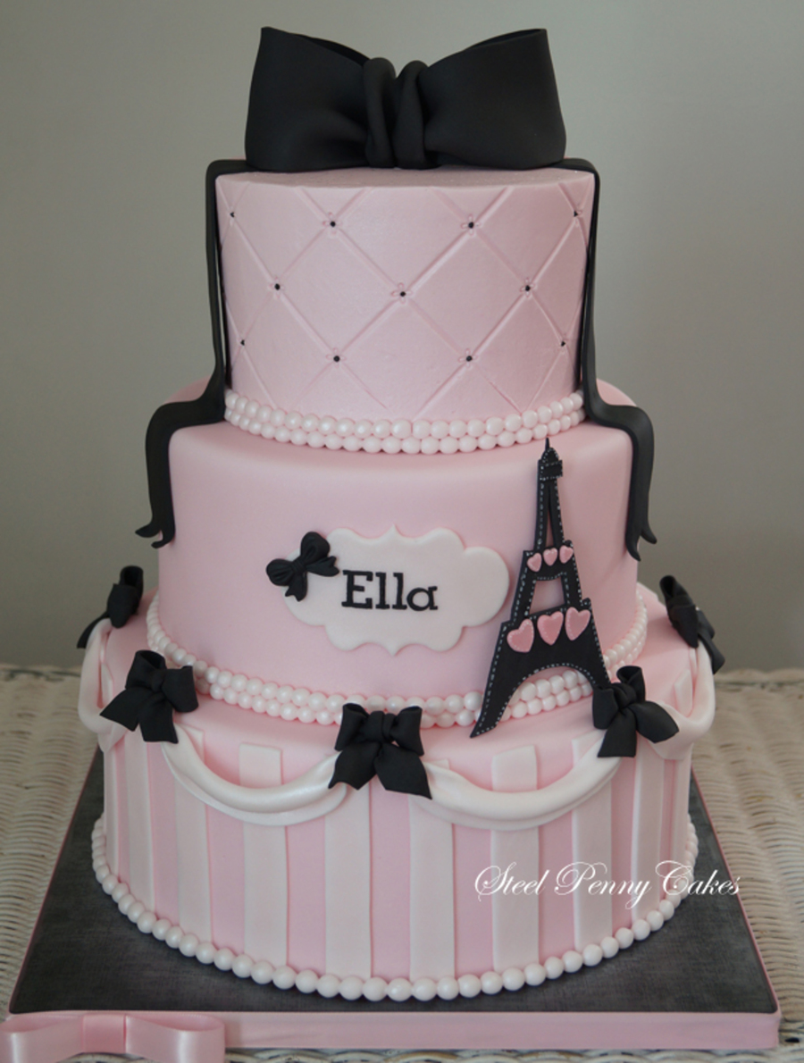 Paris In Pink on Cake Central