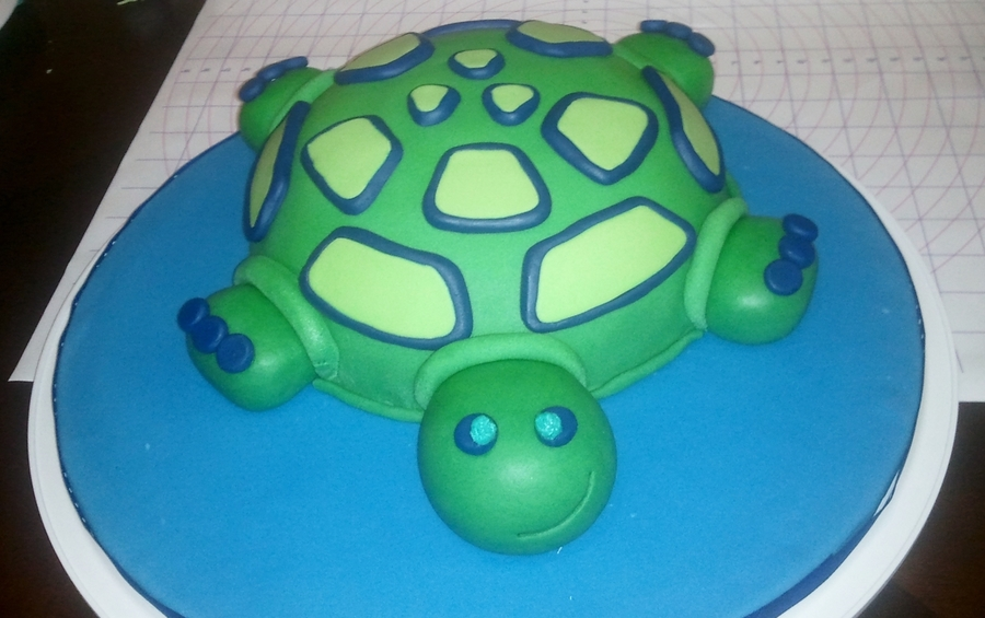 Mr. Turtle on Cake Central