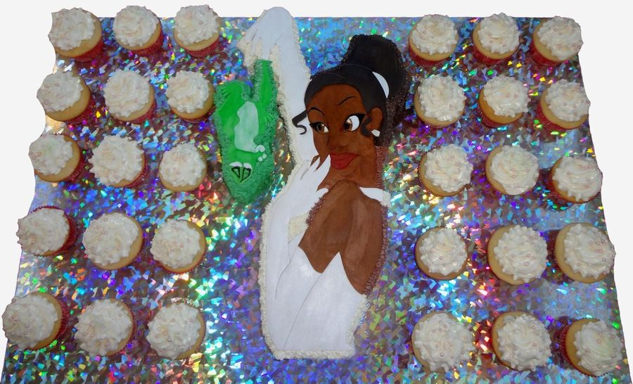Princess And The Frog Birthday Cake on Cake Central