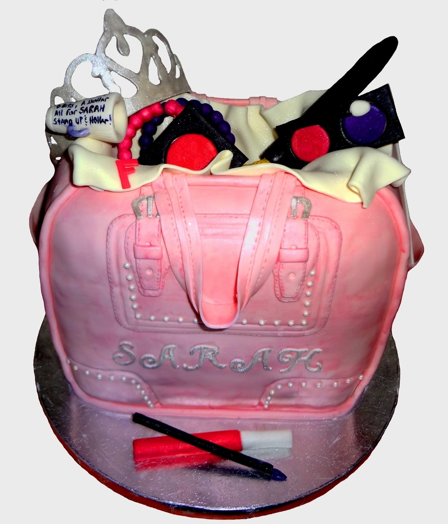 Purse Birthday Cake on Cake Central