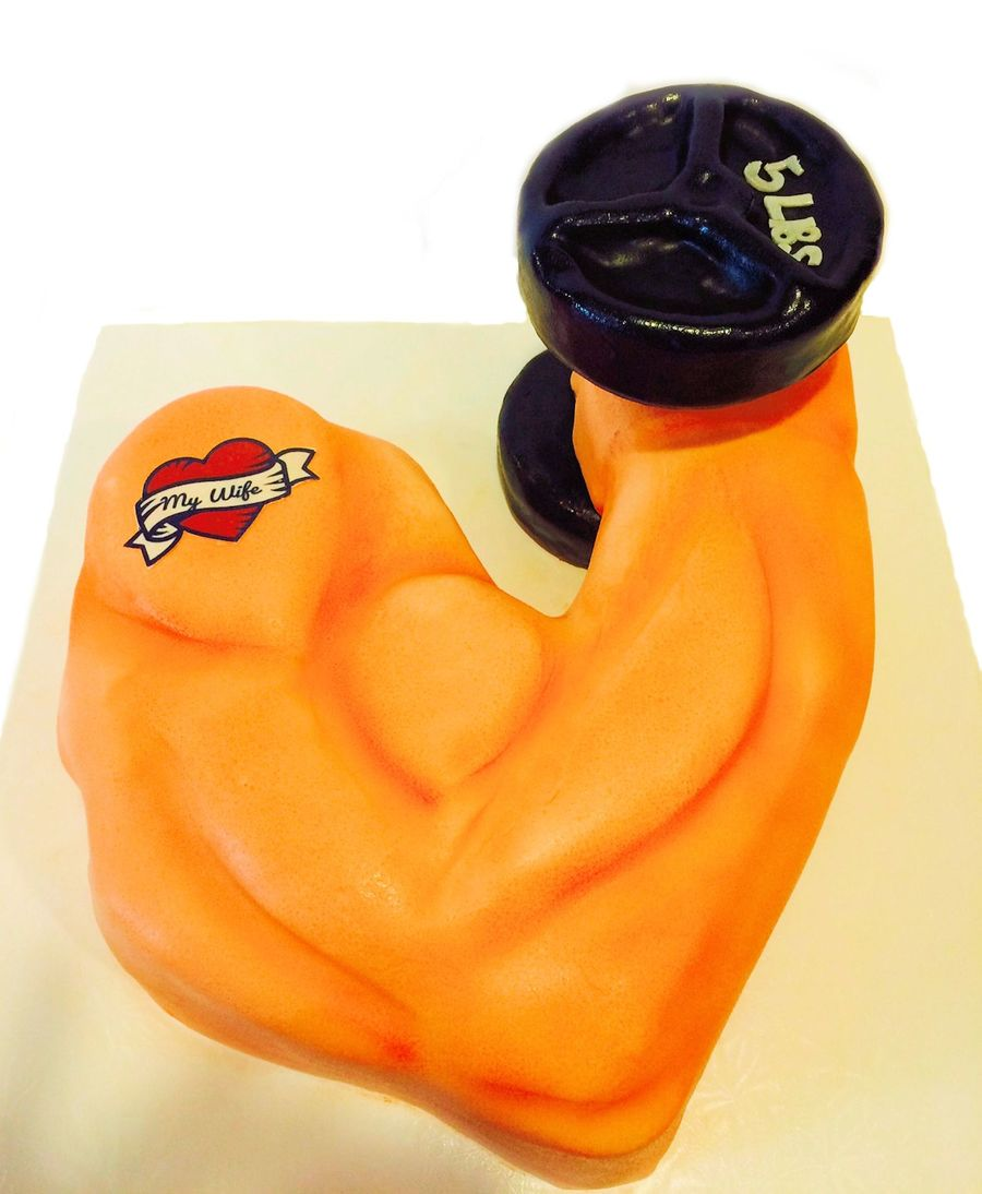 Excellent Muscle Man 30Th Birthday Cake Cakecentral Com Personalised Birthday Cards Xaembasilily Jamesorg