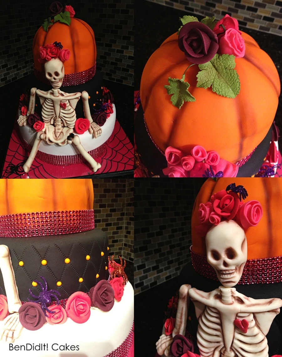 Halloween B-Day Cake on Cake Central