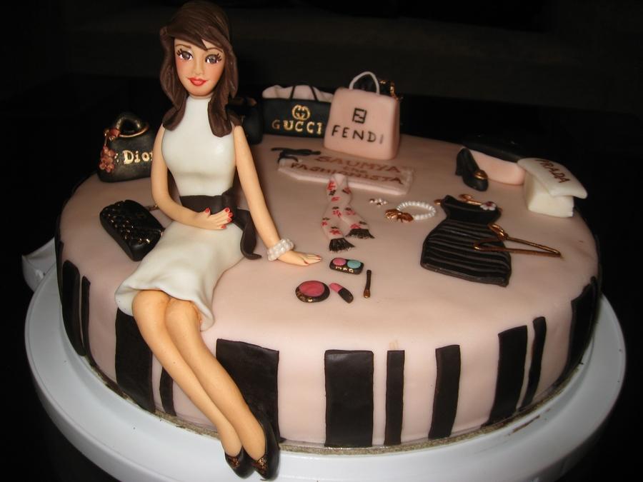 Fashionista Cake Cakecentral Com