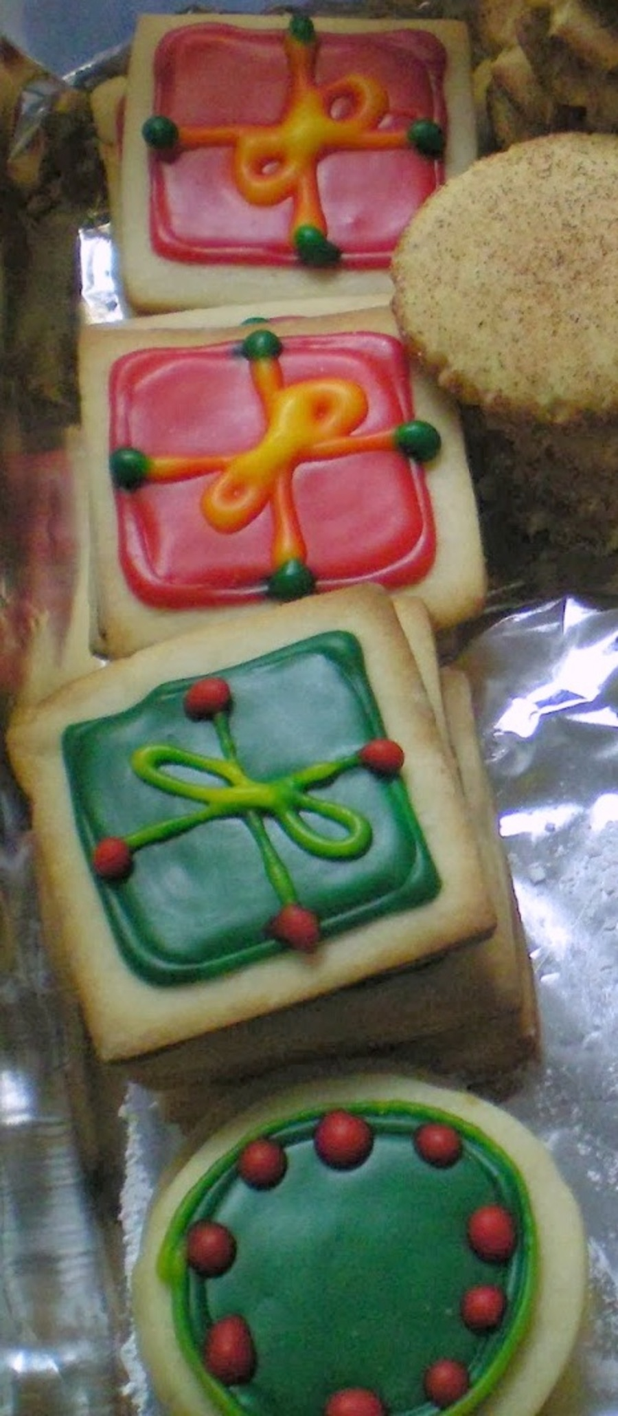 Cream Cheese Sugar Cookies With Poured Fondant on Cake Central