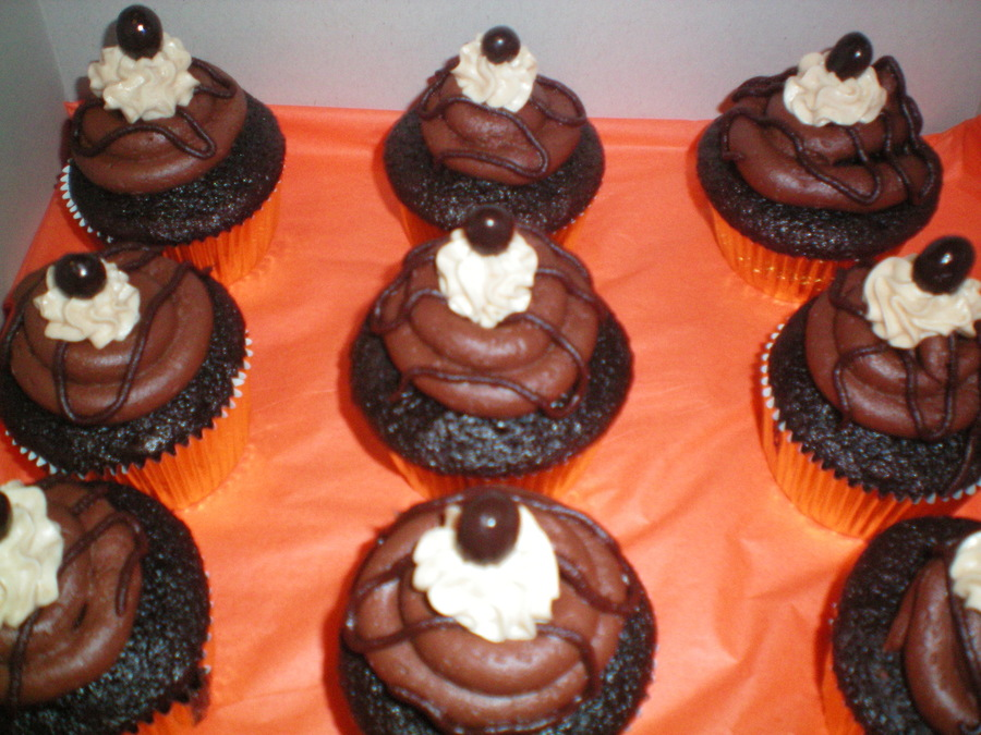 Black Forest Mocha Espresso Cupcakes on Cake Central