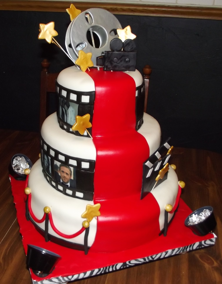 hollywood themed wedding cakes cake cakecentral 15272