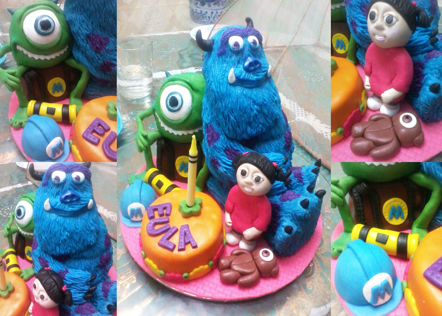 Monsters Inc. on Cake Central