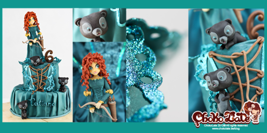 Brave Princess Merida on Cake Central