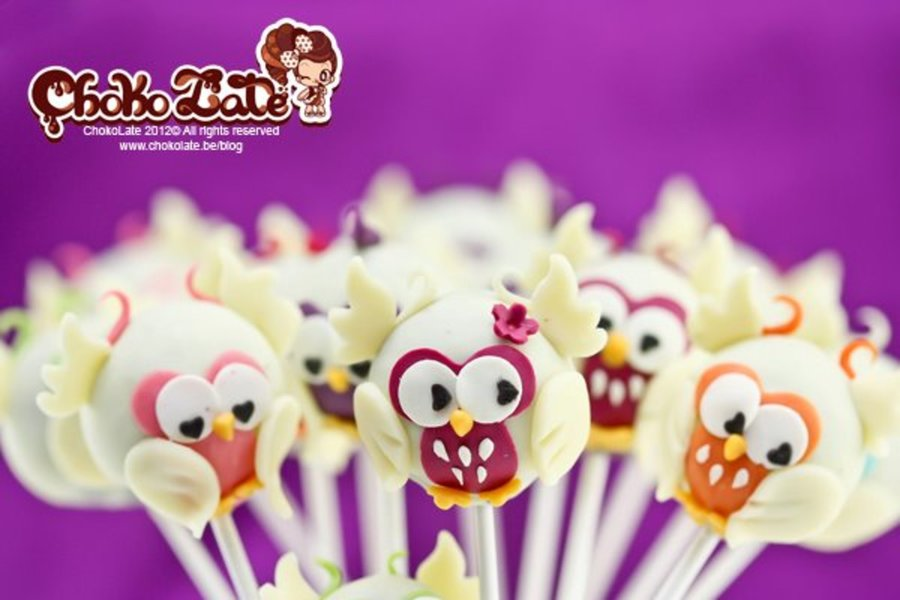 Owl Cake Pops on Cake Central