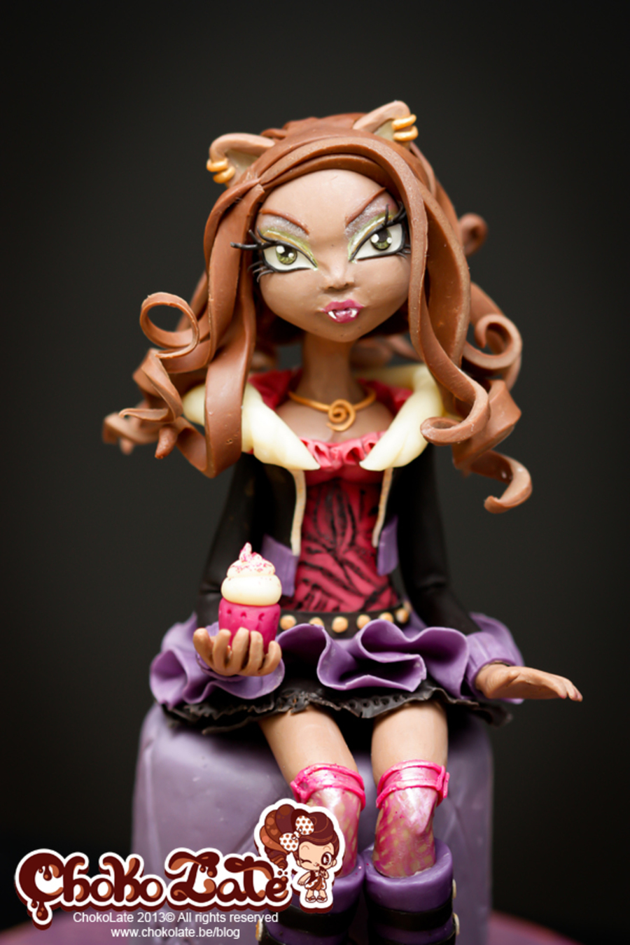 Pleasing Monster High Cake Topper Clawdeen Wolf Cakecentral Com Personalised Birthday Cards Beptaeletsinfo