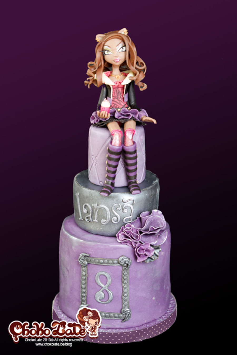 Outstanding Monster High Birthday Cake Clawdeen Cakecentral Com Funny Birthday Cards Online Fluifree Goldxyz