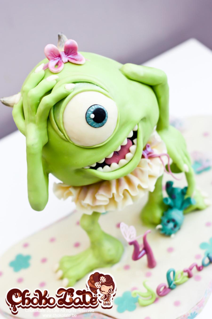 Mike Wazowski Bob Monsters Inc Cakecentral Com