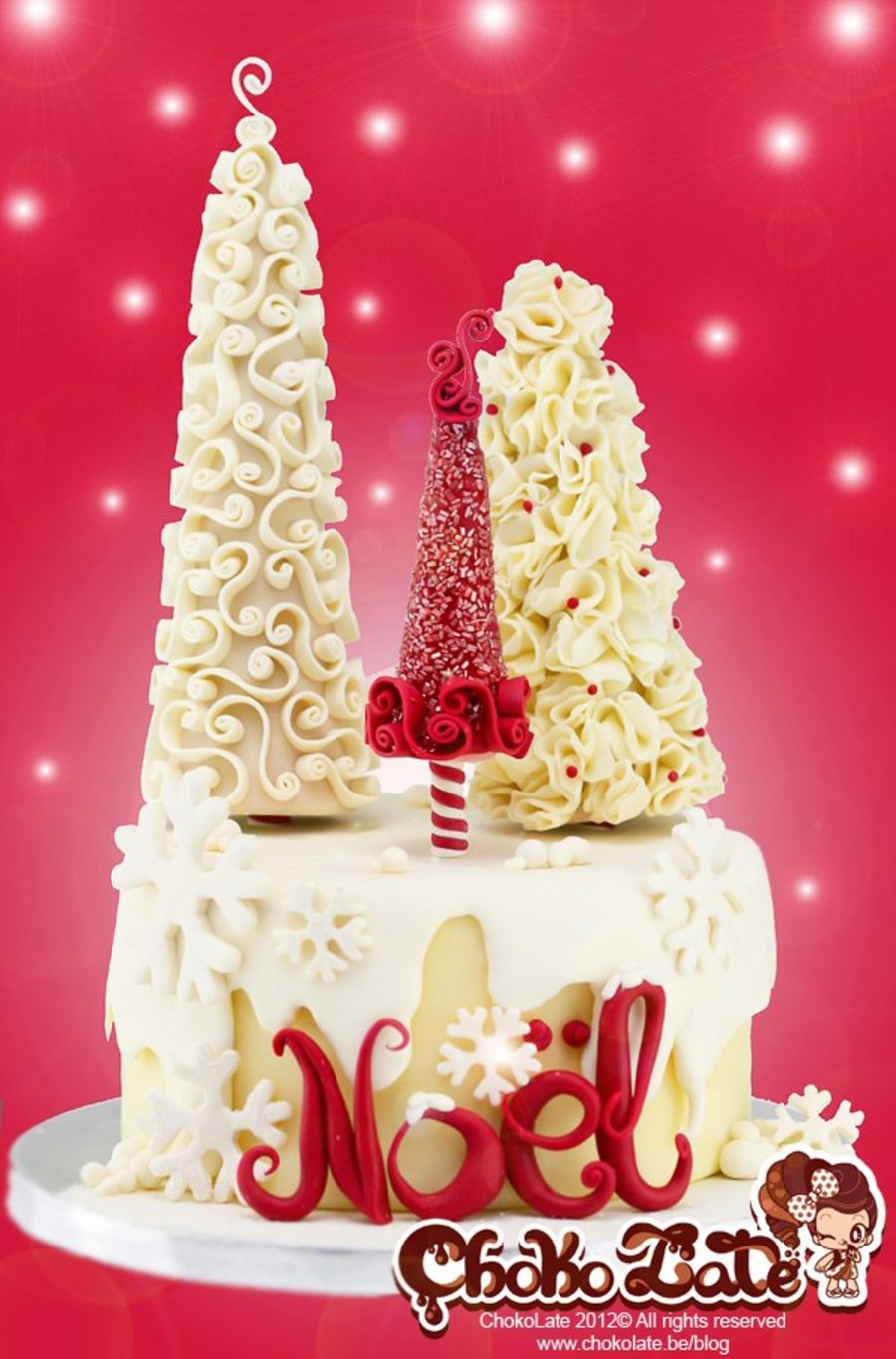 Inspiring Christmas Trees on Cake Central