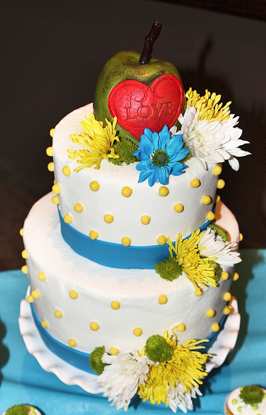 Rustic Love  on Cake Central