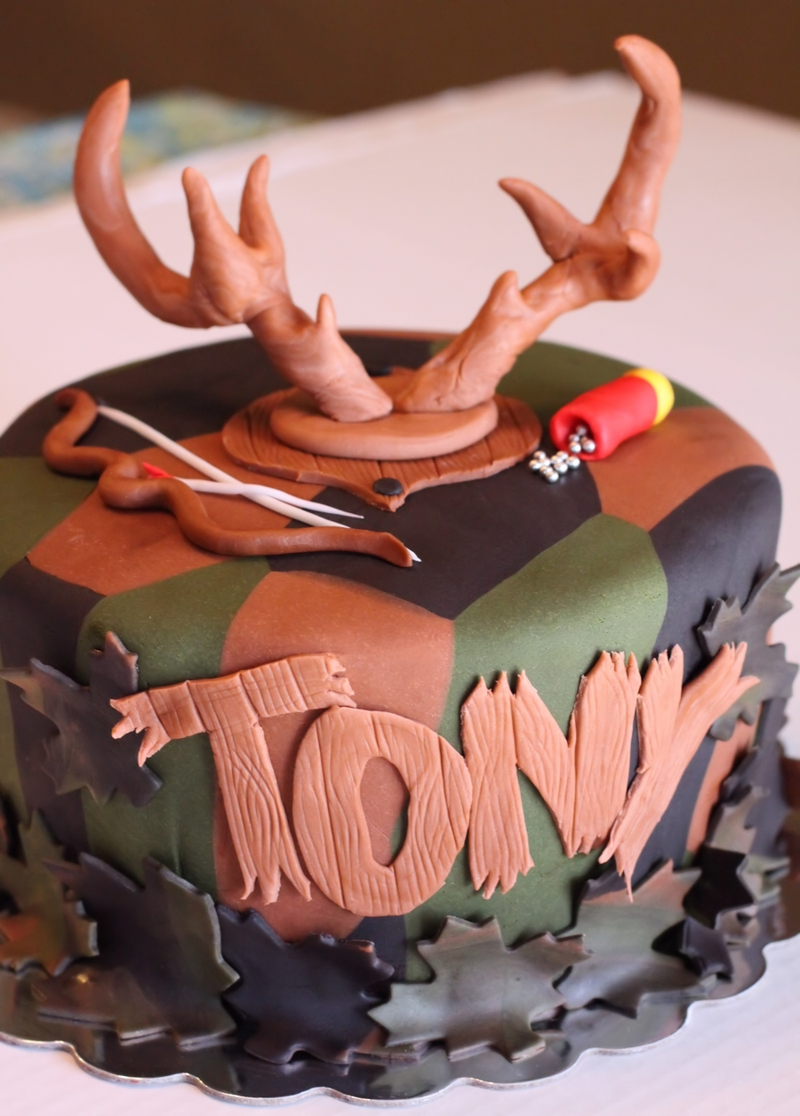 Buck Hunter Cake on Cake Central