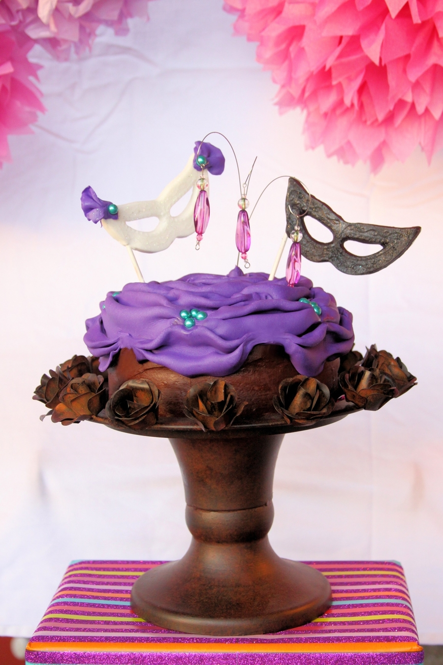 It's A Masquerade! on Cake Central