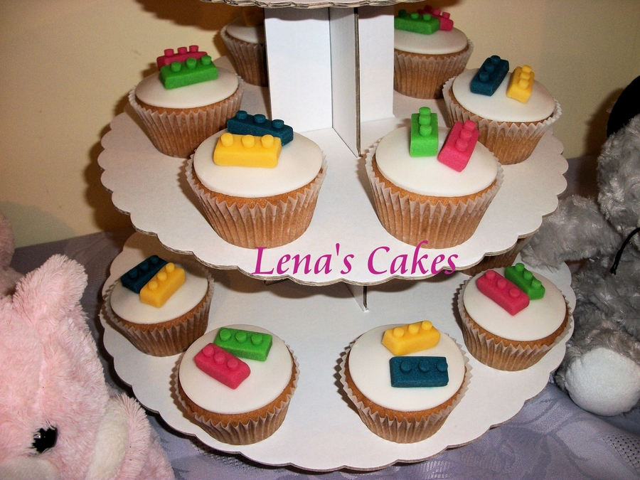 Lego Cupcakes! on Cake Central