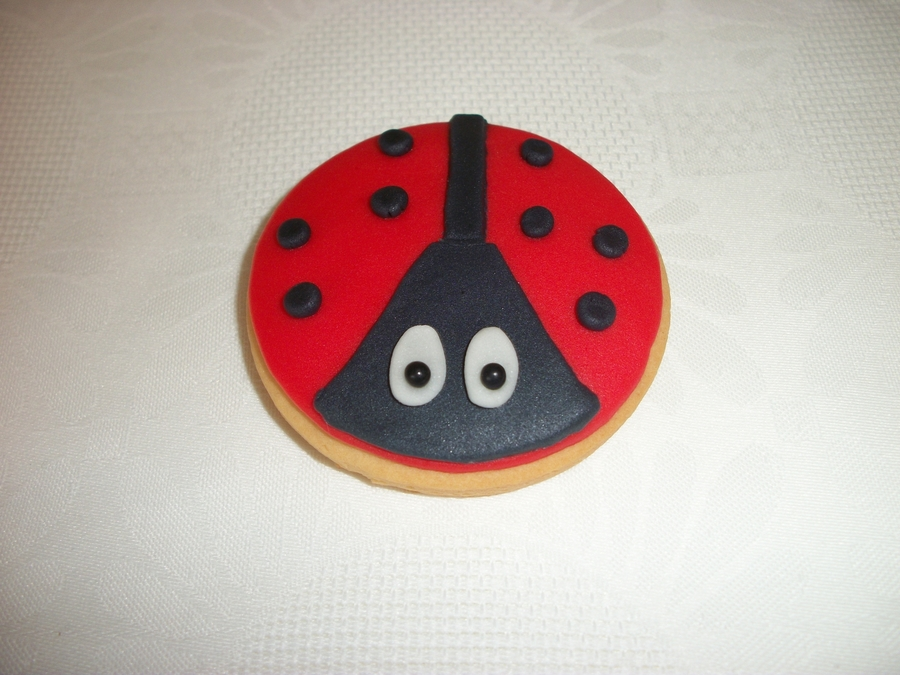 Ladybug Cookie! on Cake Central