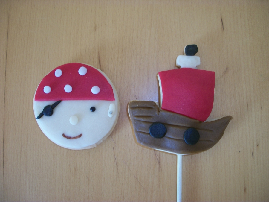 Pirate Cookies!  on Cake Central