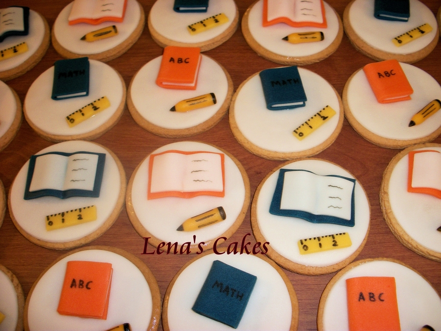 Back To School Cookies! on Cake Central