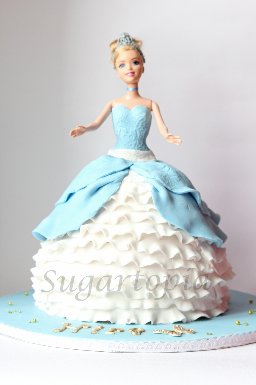 Cinderella Birthday Doll Cake