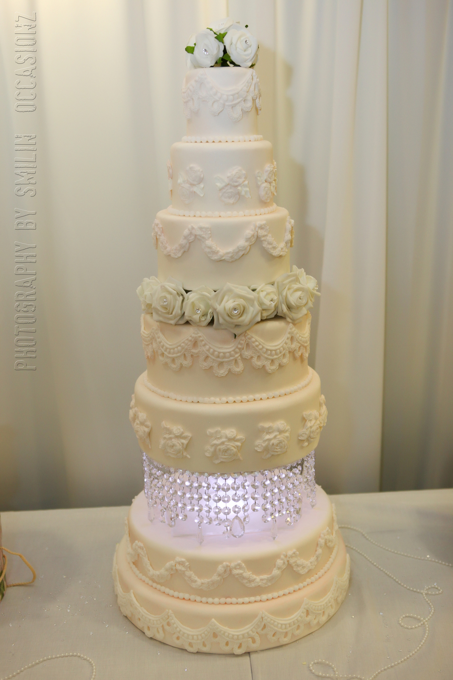 The Grand Wedding Cake on Cake Central