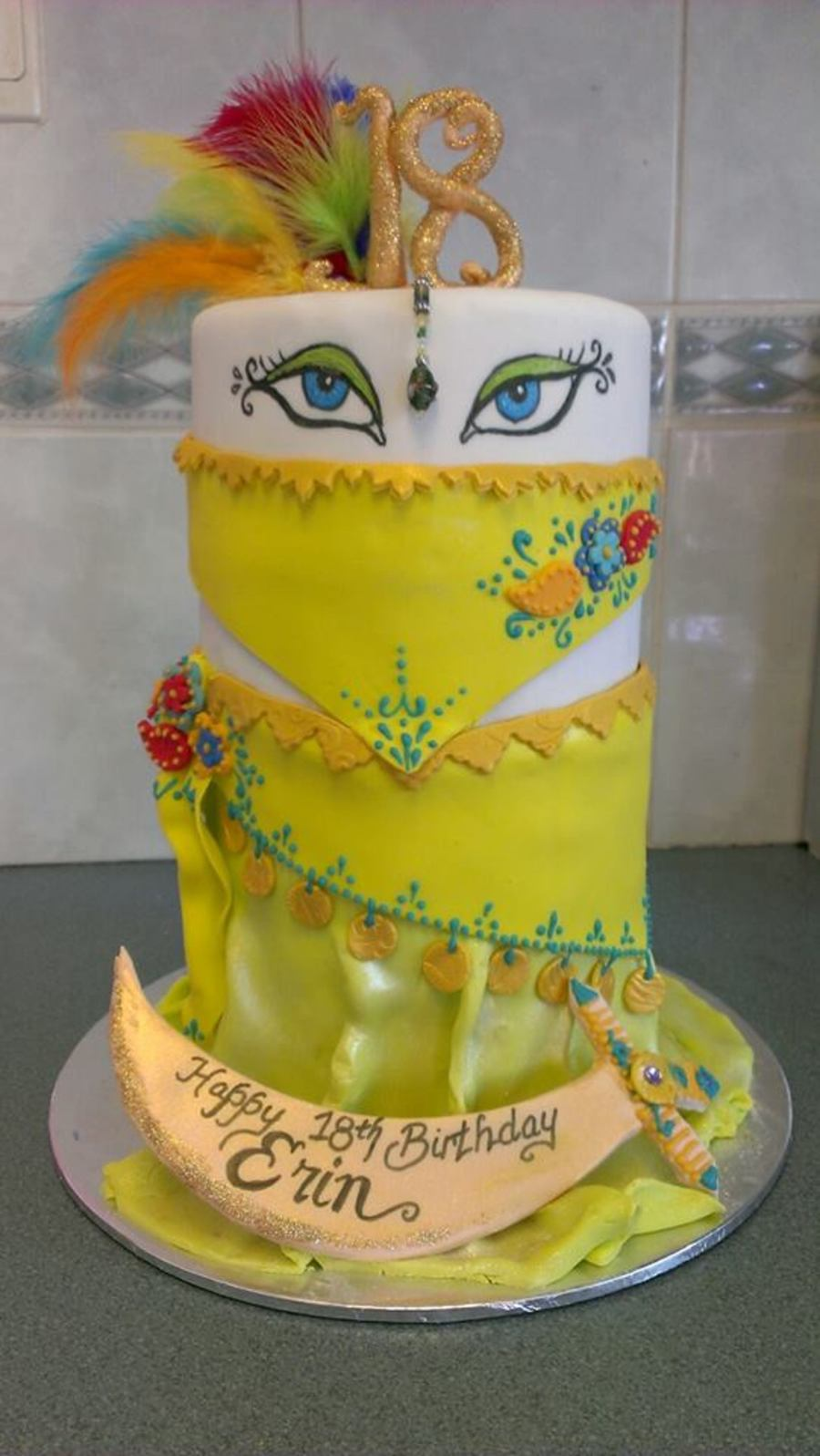 Belly Dance Cake Tutorial