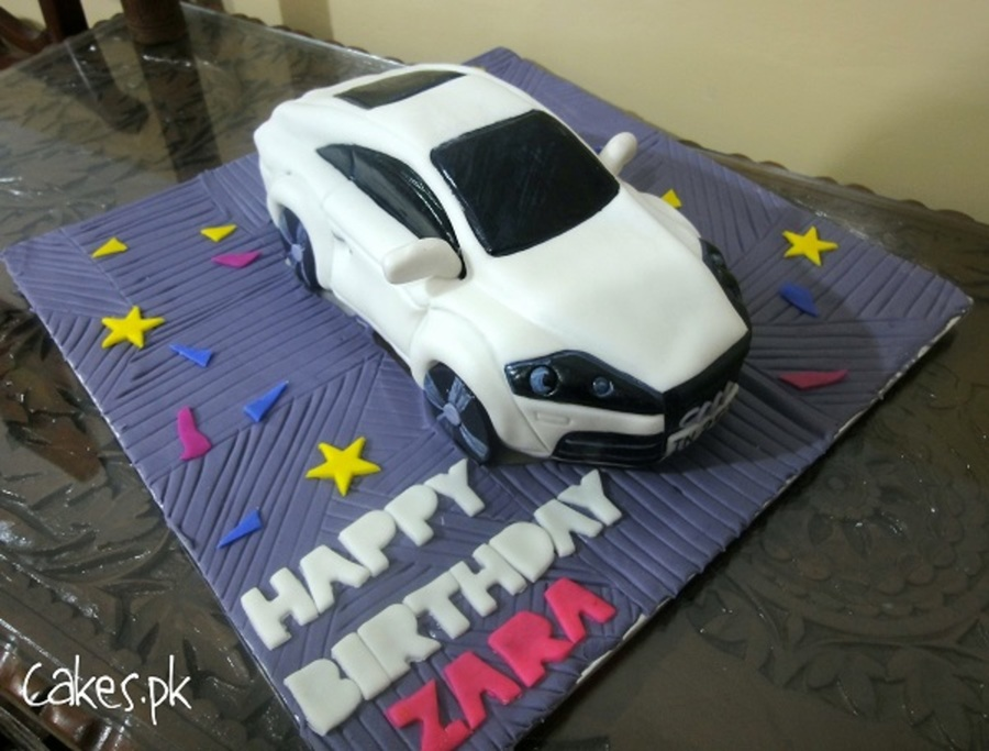Audi Tt Sculpted Car Cake on Cake Central