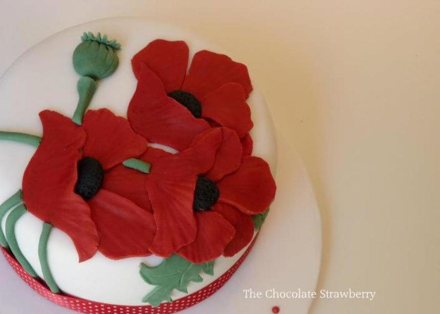 Poppies on Cake Central