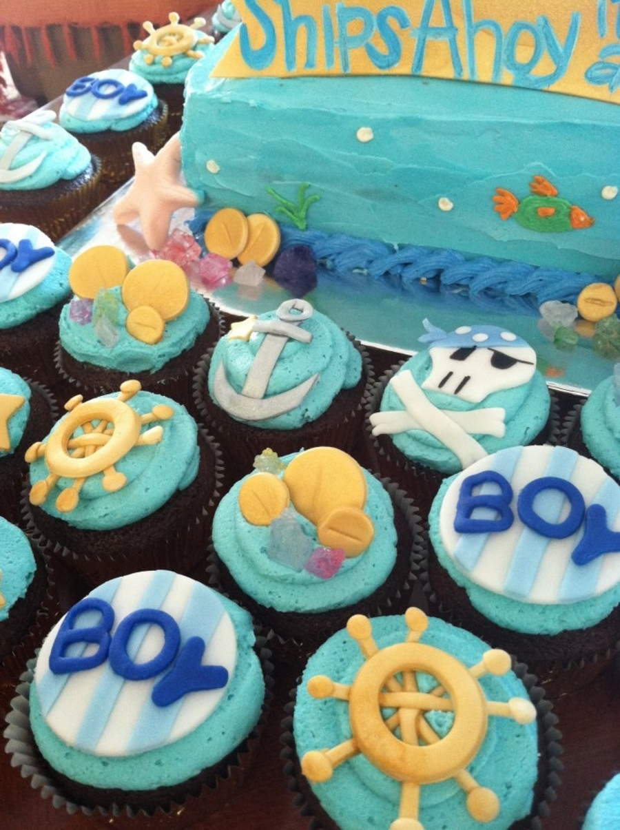 pirate theme ocean theme baby shower