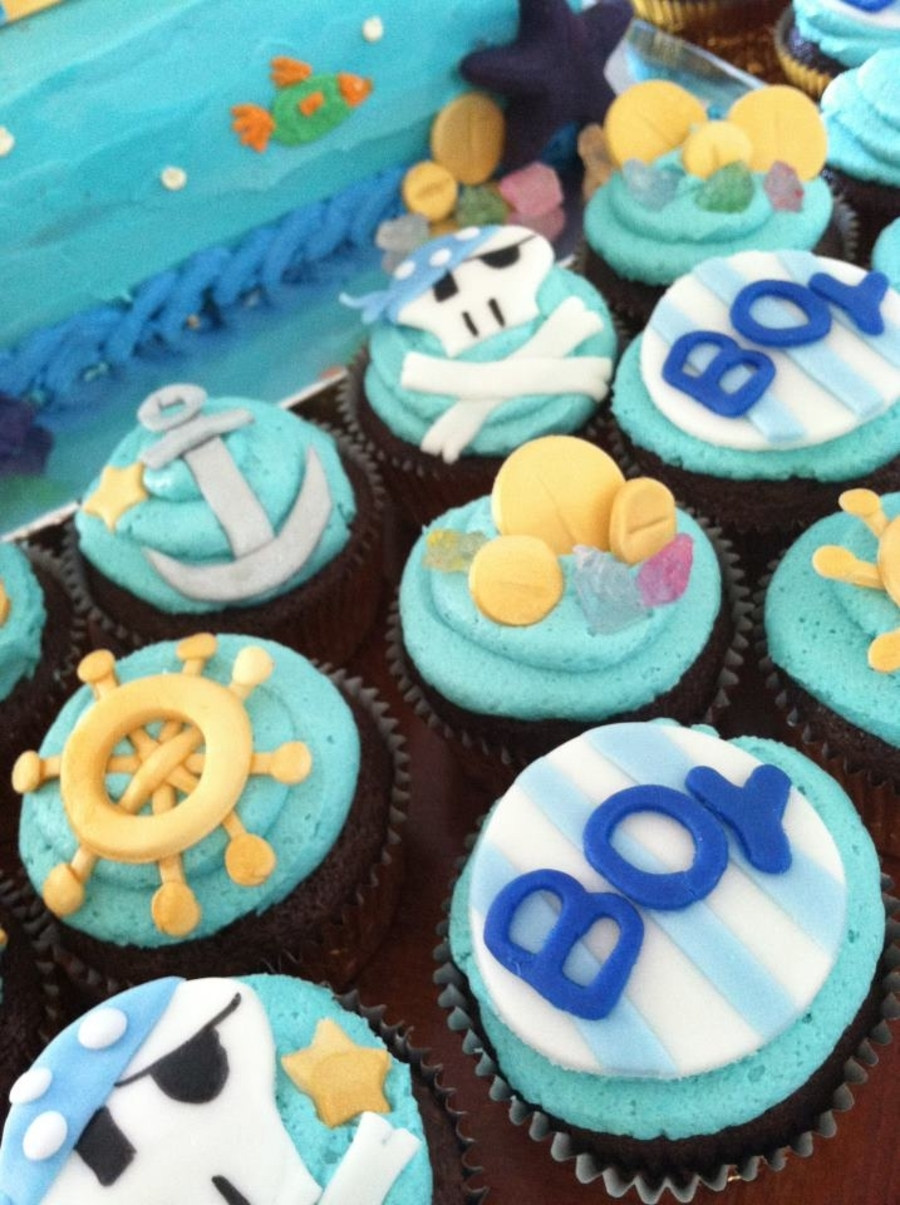 Pirate Themeocean Theme Baby Shower Cakecentral