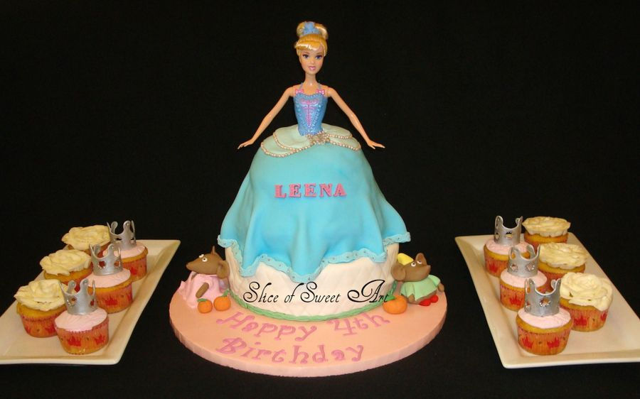 Cinderella Doll on Cake Central