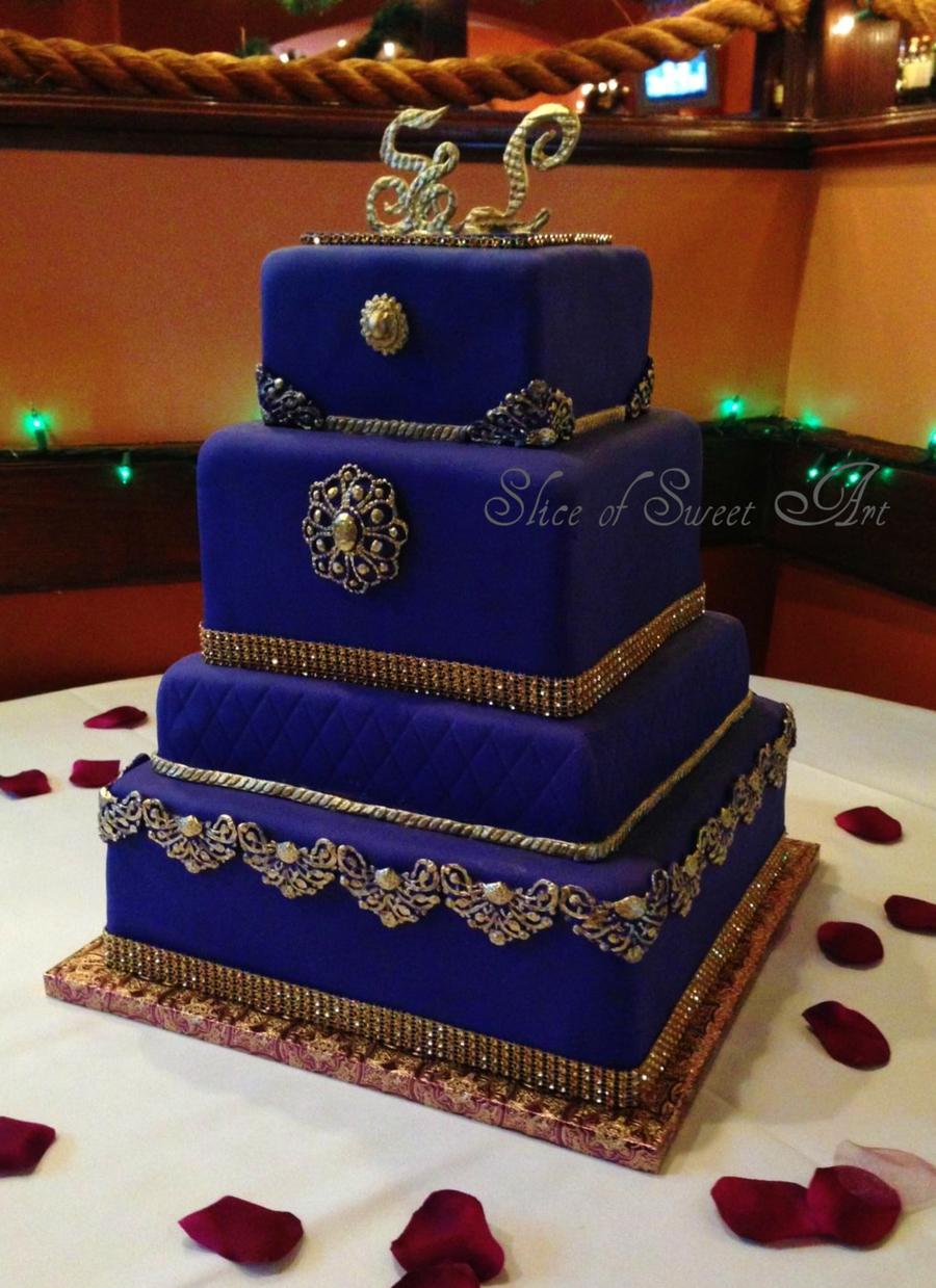 Regal In Purple Amp Gold Cakecentral Com