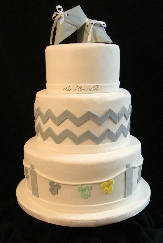 Elegant Baby Shower Cakes For Girl