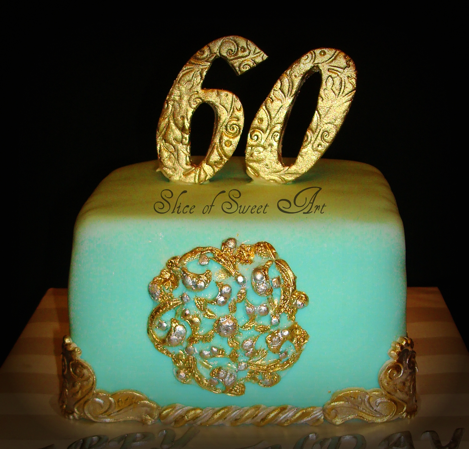 Moms 60th Cakecentral