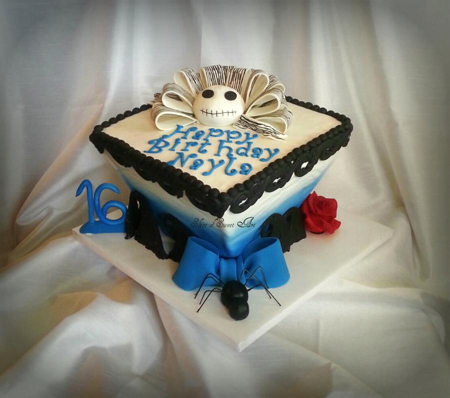 Tim Burton Jack Skellington Sweet 16 Cakecentral
