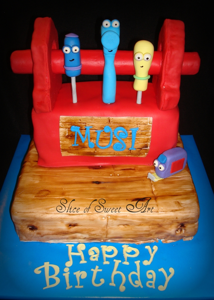 Handy Manny Birthday on Cake Central