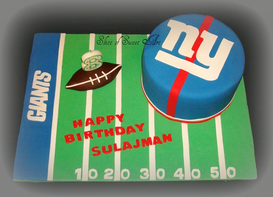 Ny Giants Birthday on Cake Central