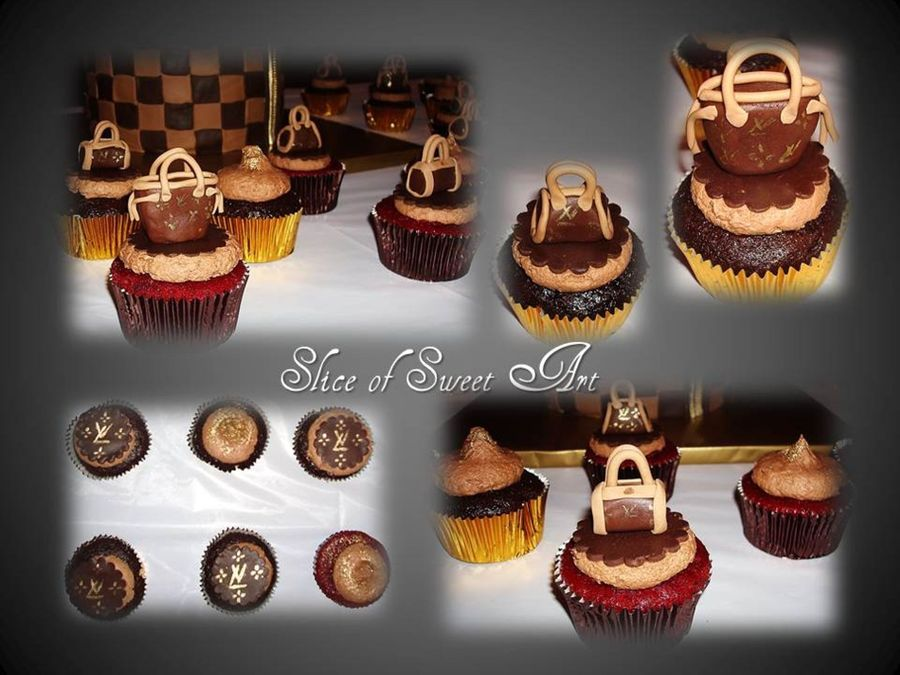 Couture Inspired Cupcakes on Cake Central