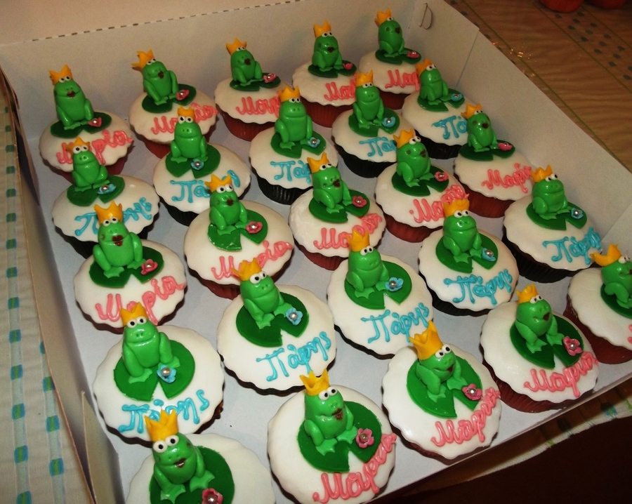 Prince Frog Cupcakes on Cake Central