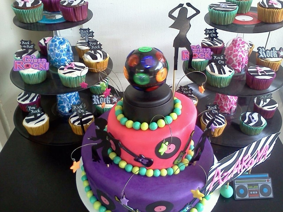 Dance Party Cake on Cake Central