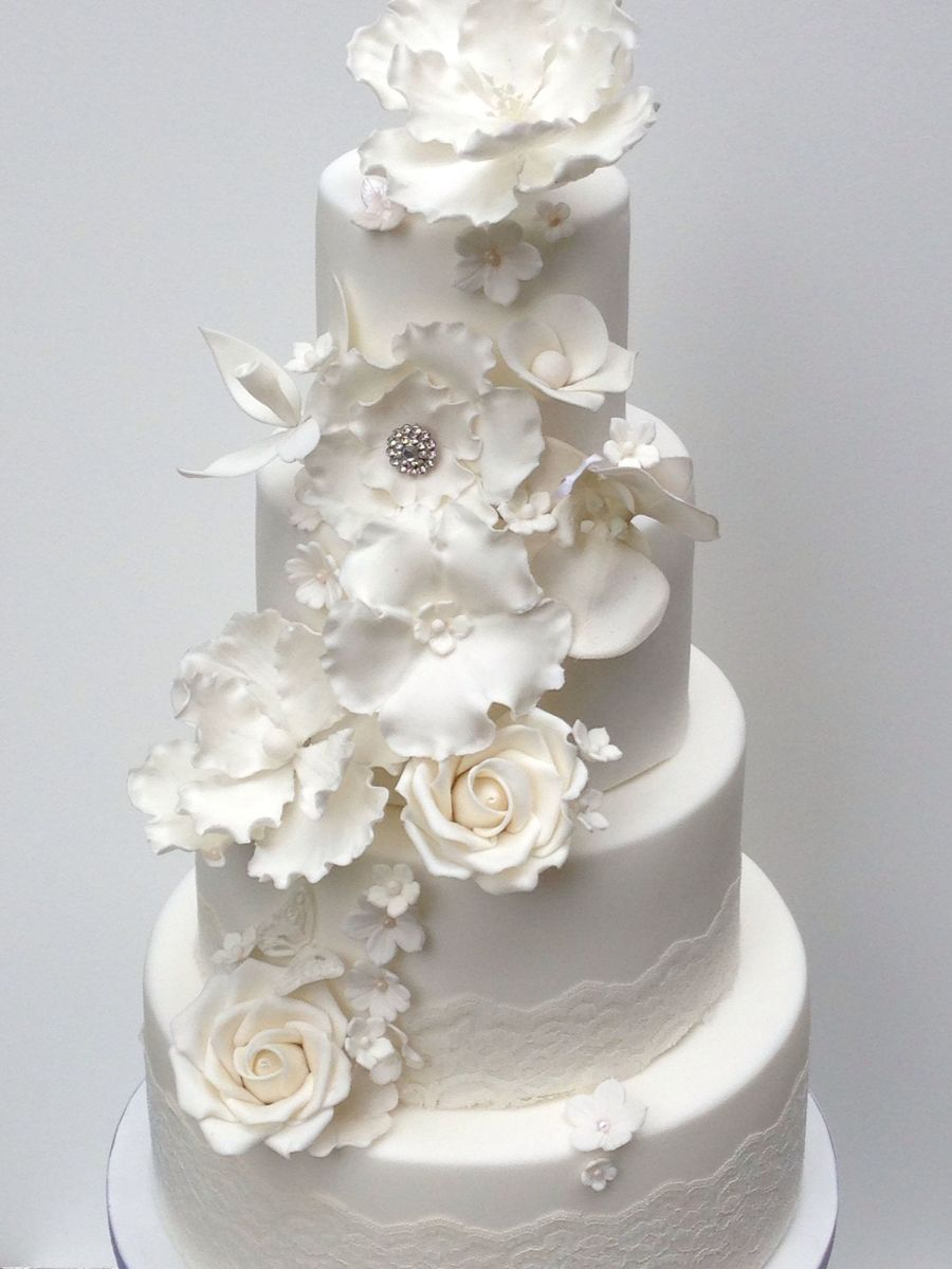 how to make sugar roses for wedding cakes