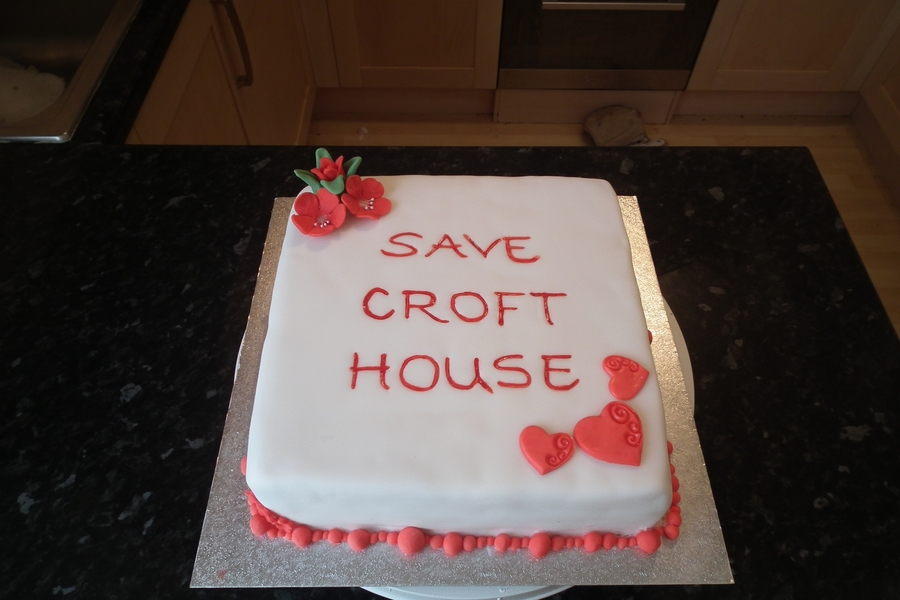 Save Croft House. on Cake Central